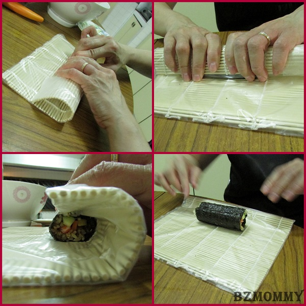 How to roll sushi (2)